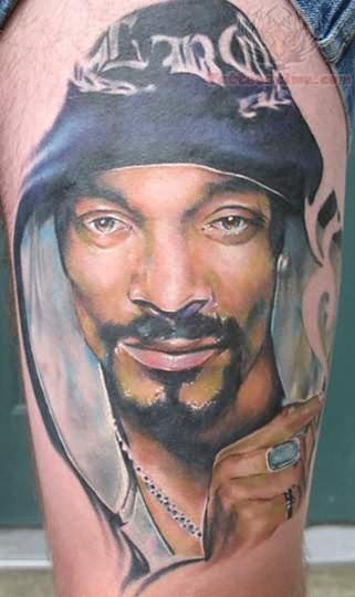Wonderful Portrait Tattoo On Biceps