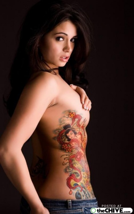 Young Tattoos For Hot Girls