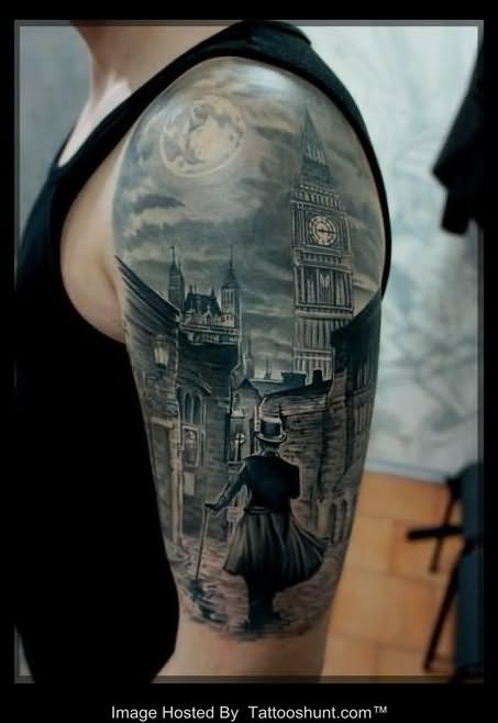 Amazing American Tattoos On Half Sleeve photo - 1