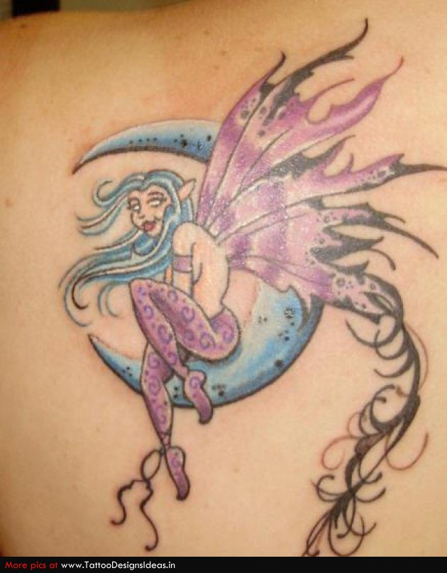 Amazing Sun And Moon Tattoos On Hands For Girls photo - 3