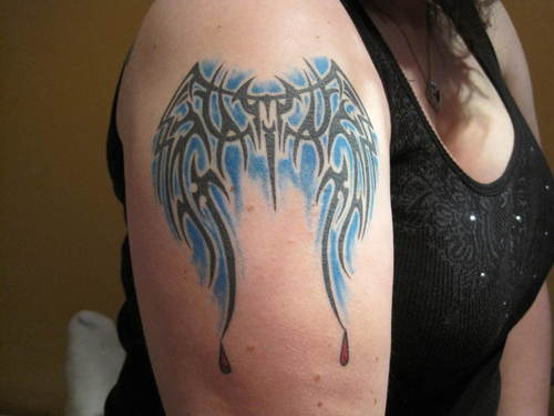 Amazing Tribal Tattoo For Biceps photo - 3