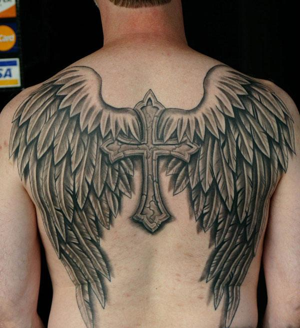 Angel Girl With Spider Wings Tattoo Design photo - 3