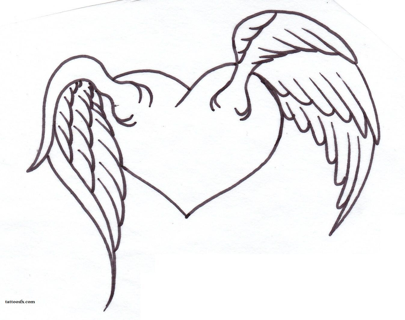 Angel Wings Animal Tattoo Design photo - 2