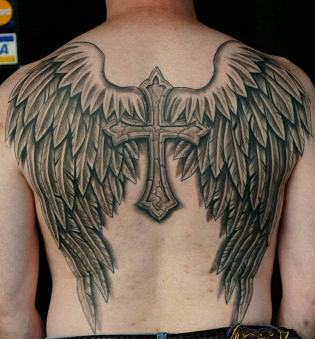 Angel Wings Animal Tattoo Design photo - 3