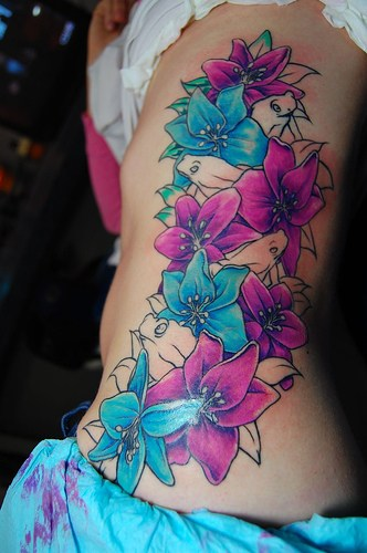 Aqua Stars Tattoo Design photo - 1