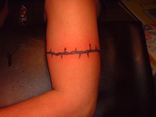 Armband Tattoo For Girls photo - 1