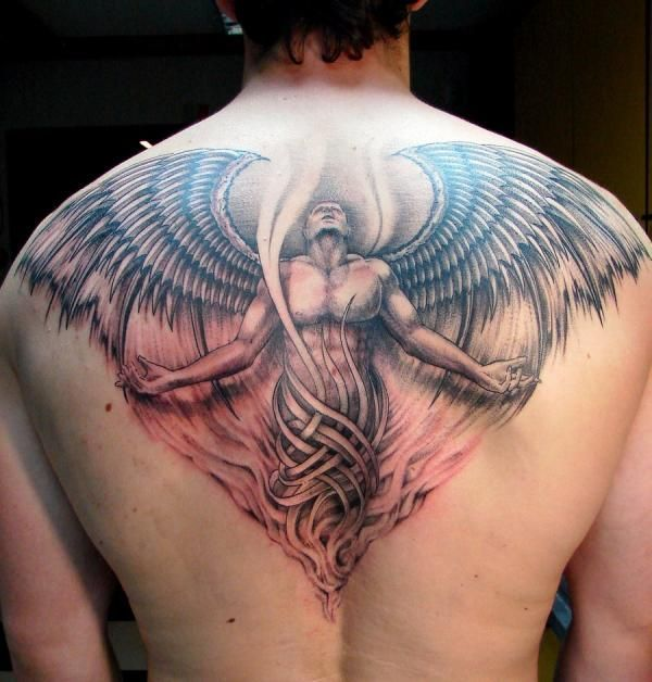 Awesome Angel Tattoo For Men photo - 1