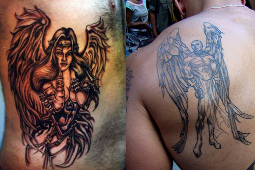 Awesome Angel Tattoo For Men photo - 3