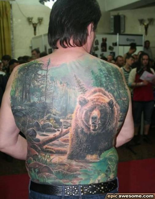 Awesome Bear Tattoo photo - 1