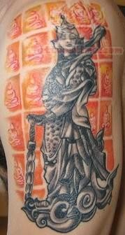 Awesome Buddhist Tattoo photo - 1