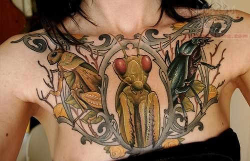 Awesome Insect Tattoo Image photo - 1