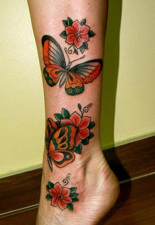 Awesome Leg Tattoo For Young photo - 2