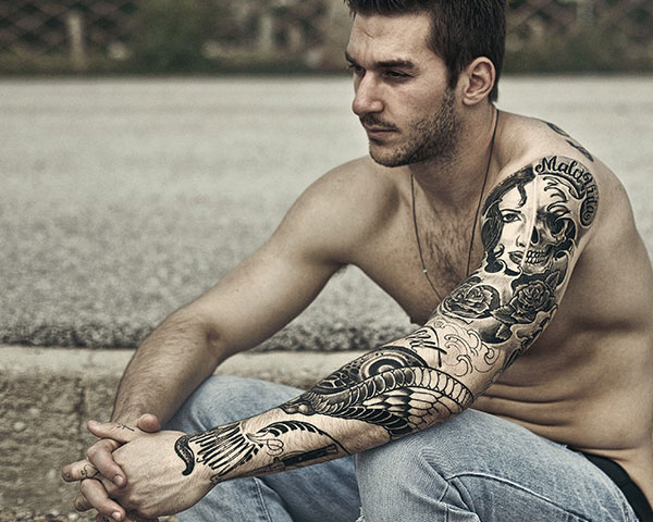 Awesome Tribal Polynesian Sleeve Tattoos photo - 3