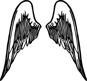 Baby Angel Wings Tattoo Design photo - 1