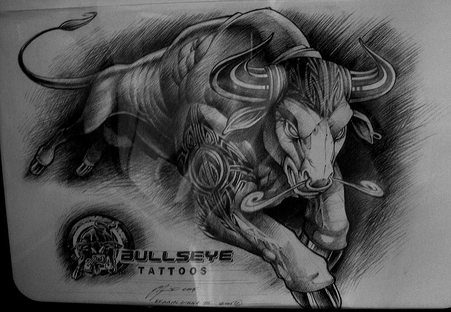 Best Bull Tattoo Design photo - 1