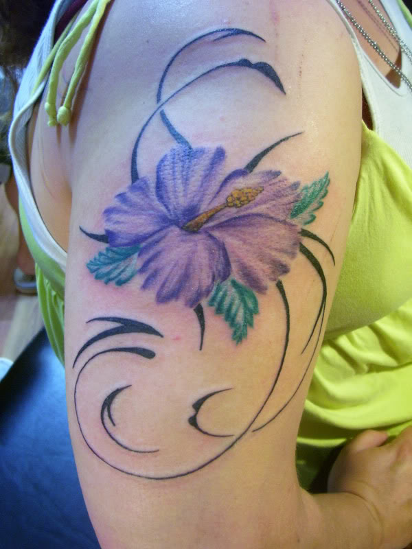 Best Tribal Flower Tattoo Designs photo - 1