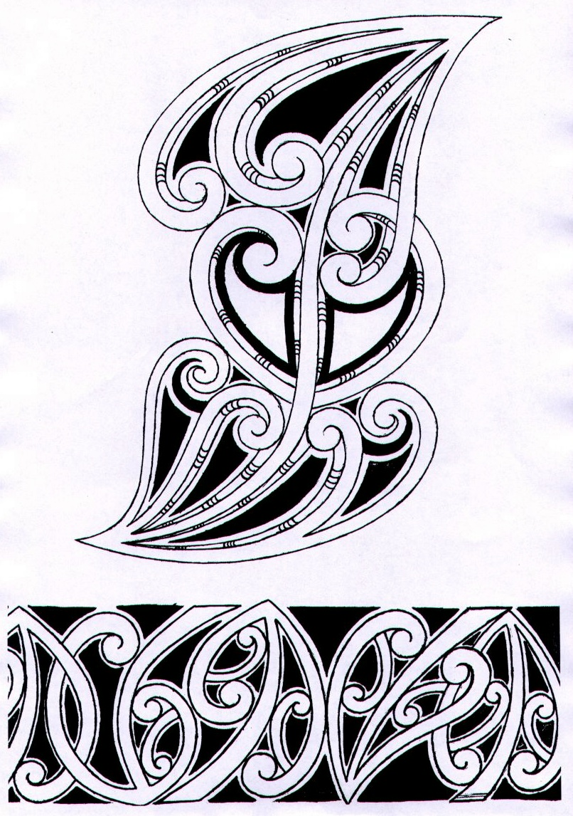 Black and White  Celtic Tattoo photo - 1