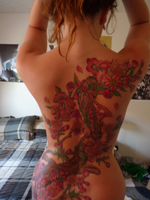 Brilliant Cherry Tattoos Design photo - 1