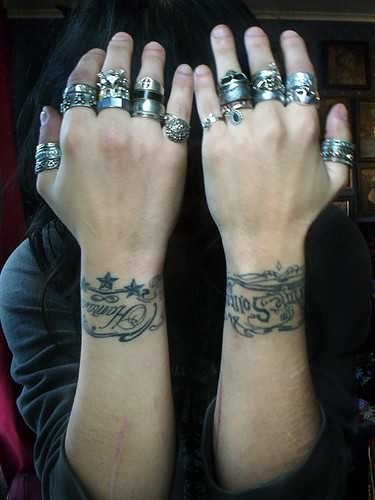 Bug Tattoo For Wrist For Girls photo - 1