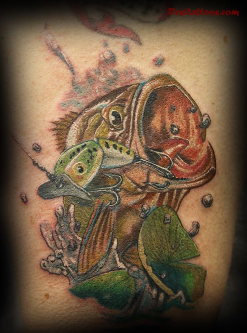 Sport fishing tattoos