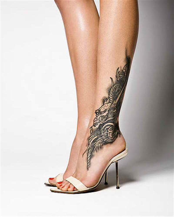 Chest Wave Mermaids Roses Tattoos photo - 2
