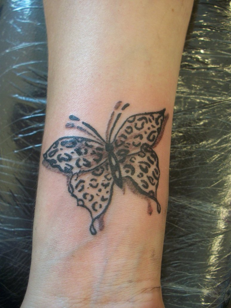 Coloured Butterfly Tattoo for Print photo - 1