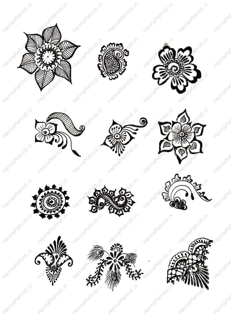 Cool Circle Temporary Tattoo Design photo - 1