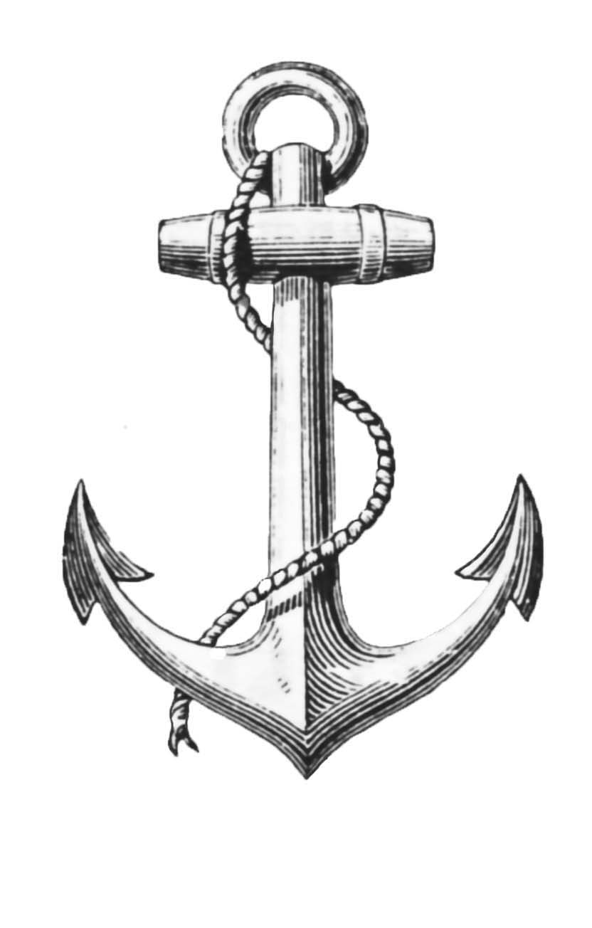 Cool Refuse To Sink Infinity Anchor And Rose Tattoo Design photo - 1