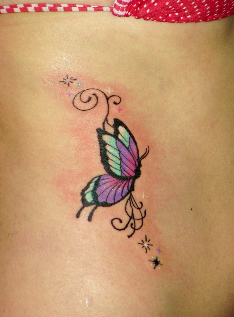 Cute Butterfly Tattoo photo - 1