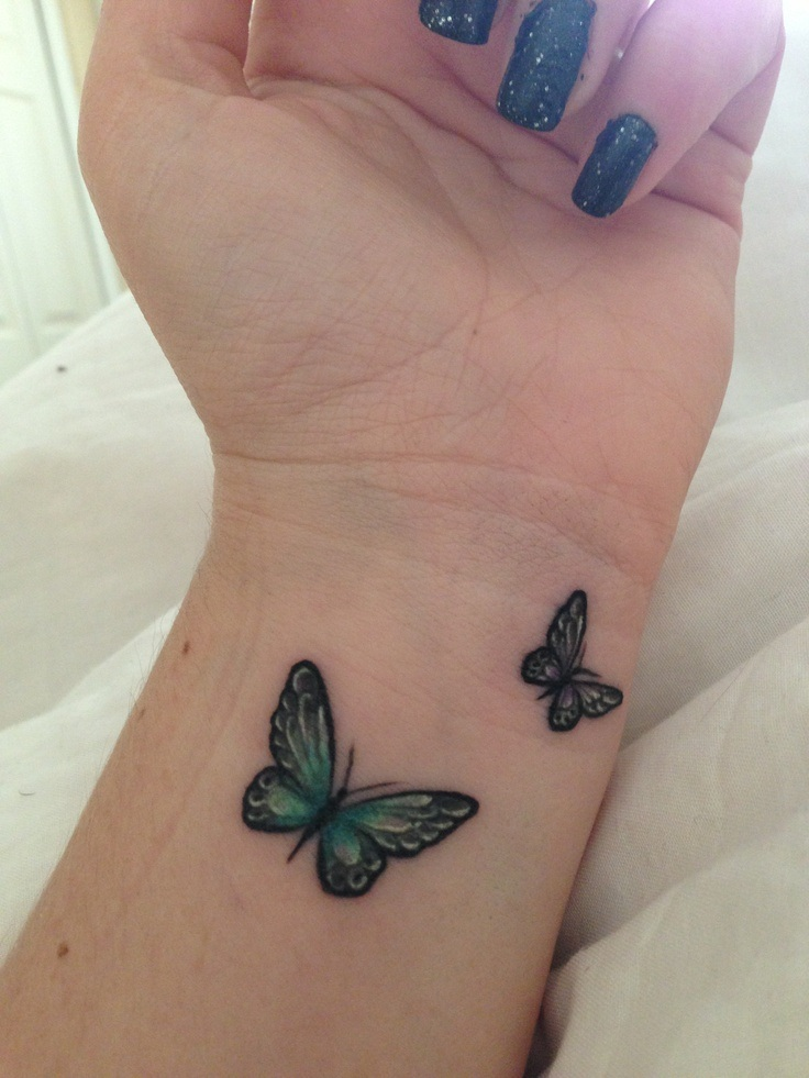 Cute Butterfly Tattoo photo - 2