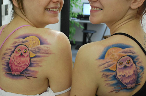 Cute Moon And Star Tattoos For Girls photo - 3