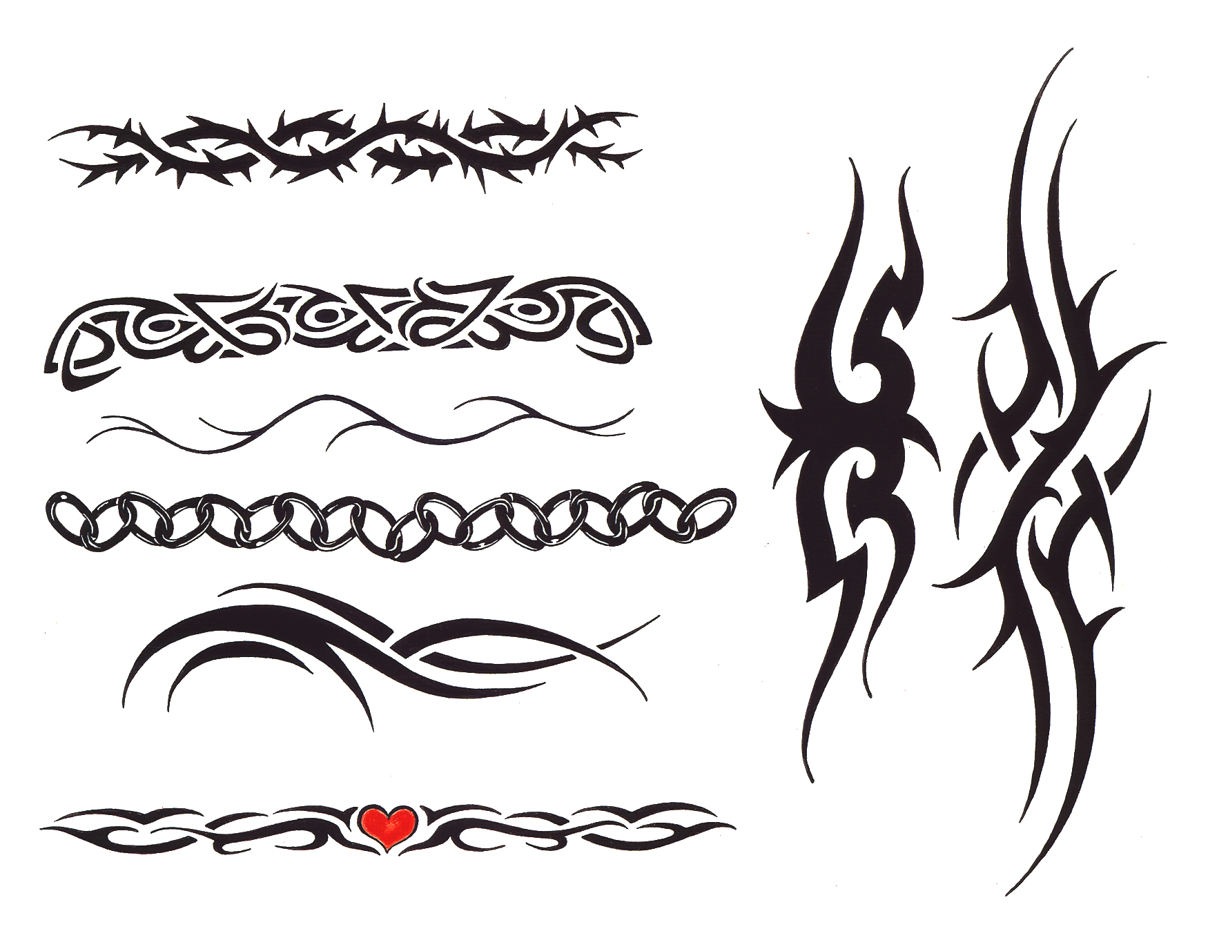 Feminine Tribal Tattoo Designs photo - 3