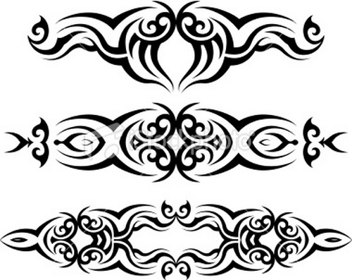 Few Tribal Armband Tattoo Designs photo - 1