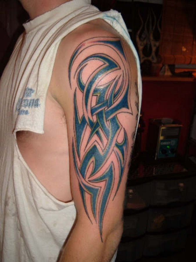 Few Tribal Tattoo Design photo - 3