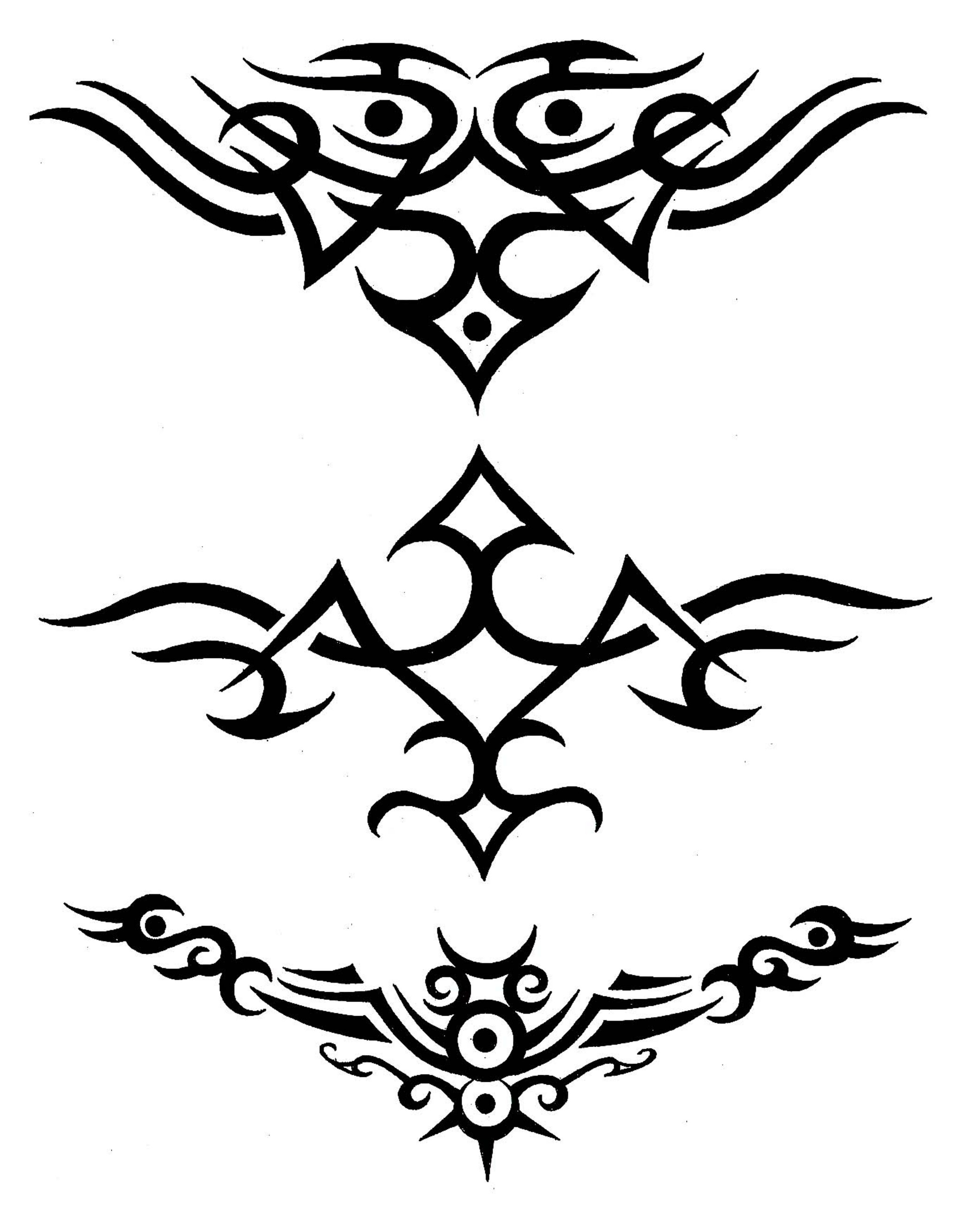 Few Tribal Tattoo Designs photo - 1