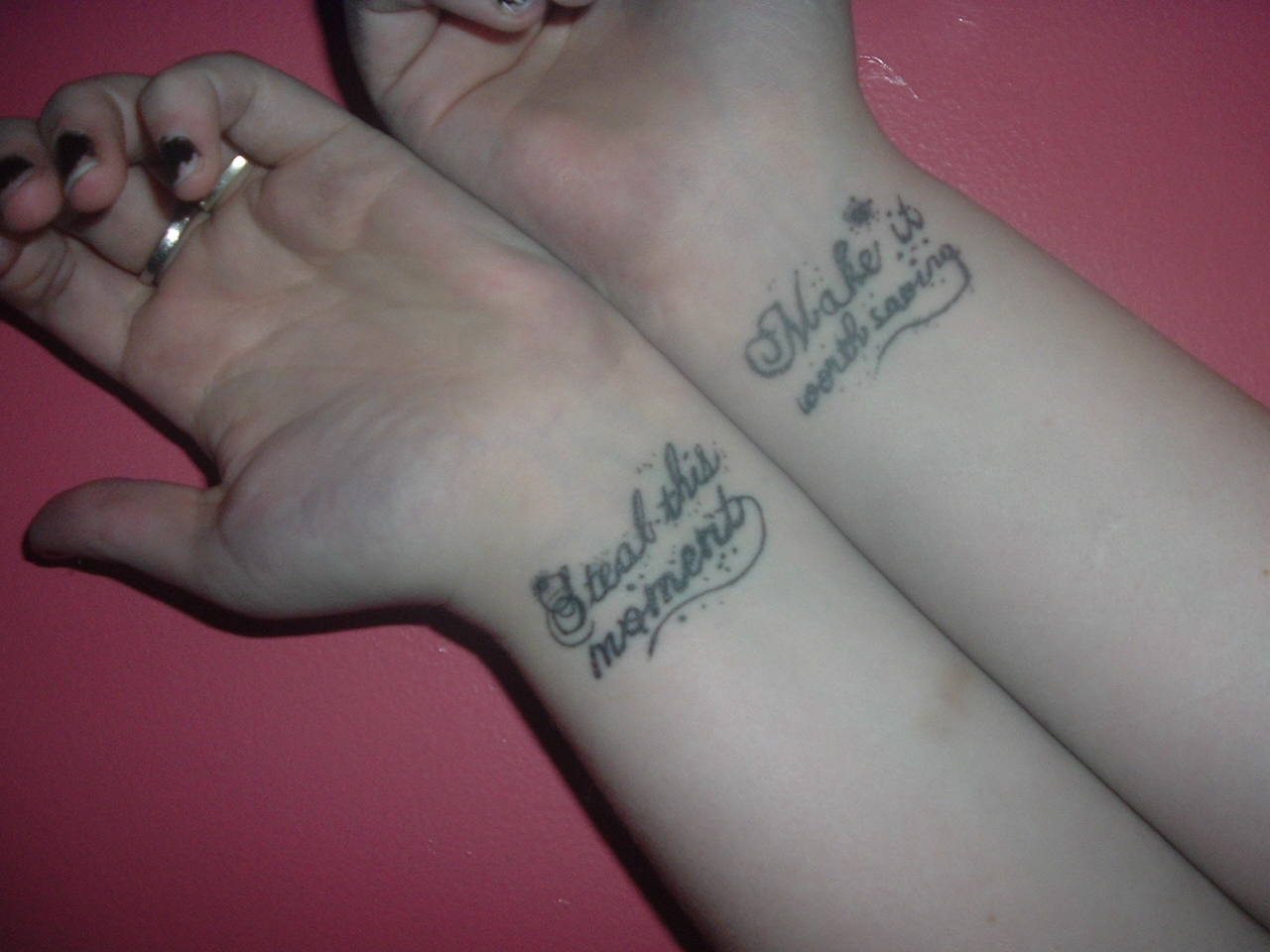 Friendship Tattoos On Wrists For Boys photo - 2