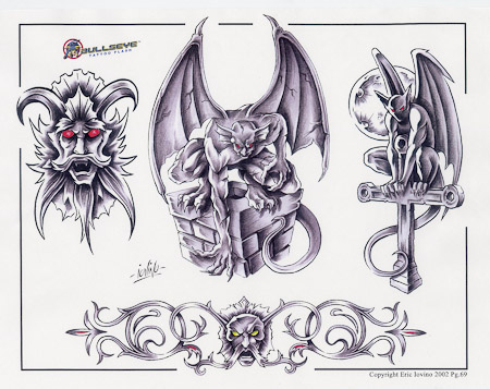 Gargoyle Tattoo Flash photo - 1