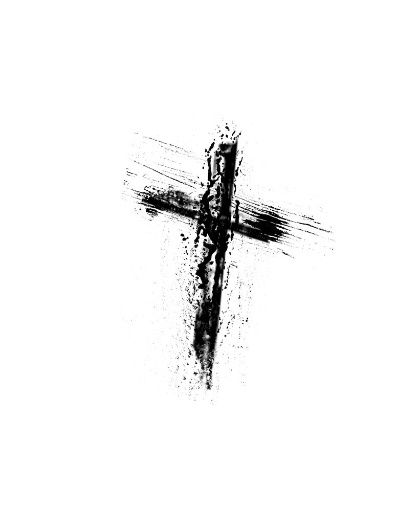 Grunge Cross Tattoo Sample photo - 1