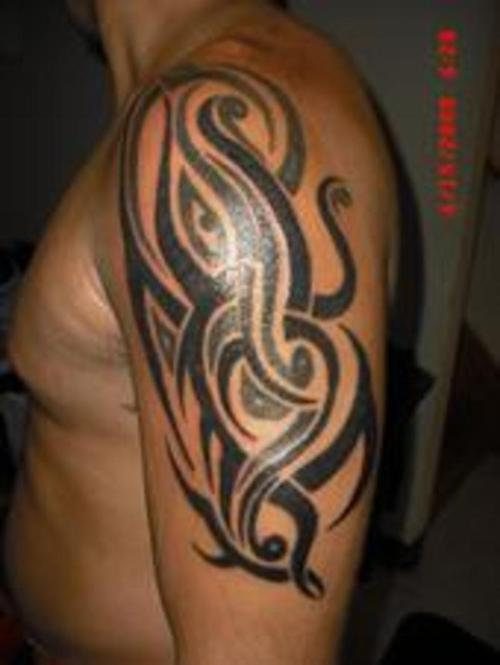 Half Sleeve Celtic And Tribal Tattoos For Men photo - 3