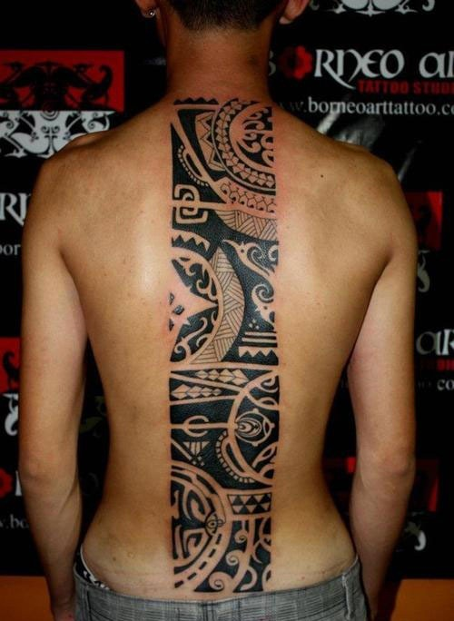 Half Sleeve Stylish Tribal Tattoos For Guys photo - 3