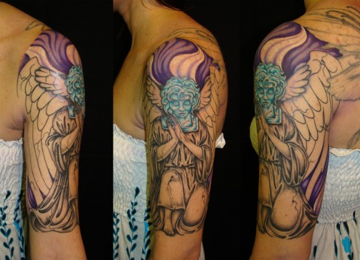 Half Sleeve Tribal Tattoos For Guys photo - 3