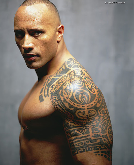 Hawaiian And Polynesian Tribal Tattoos On Shoulder photo - 1