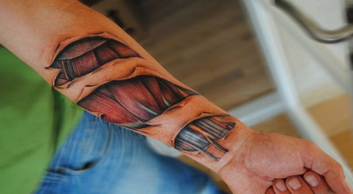 Heart And Robot Tattoos On Wrist photo - 1