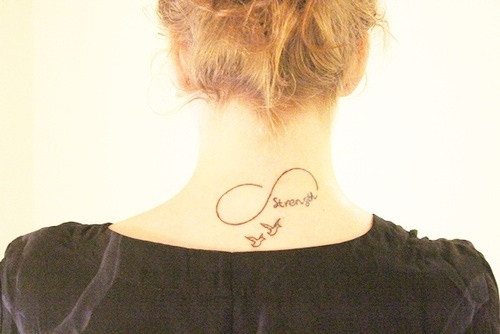 Hope Faith Infinity Tattoo Picture photo - 1