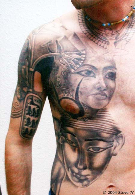 Insect Tattoo In Tribal Style photo - 3