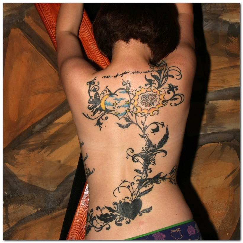Ivy Tribal Tattoo Design photo - 1