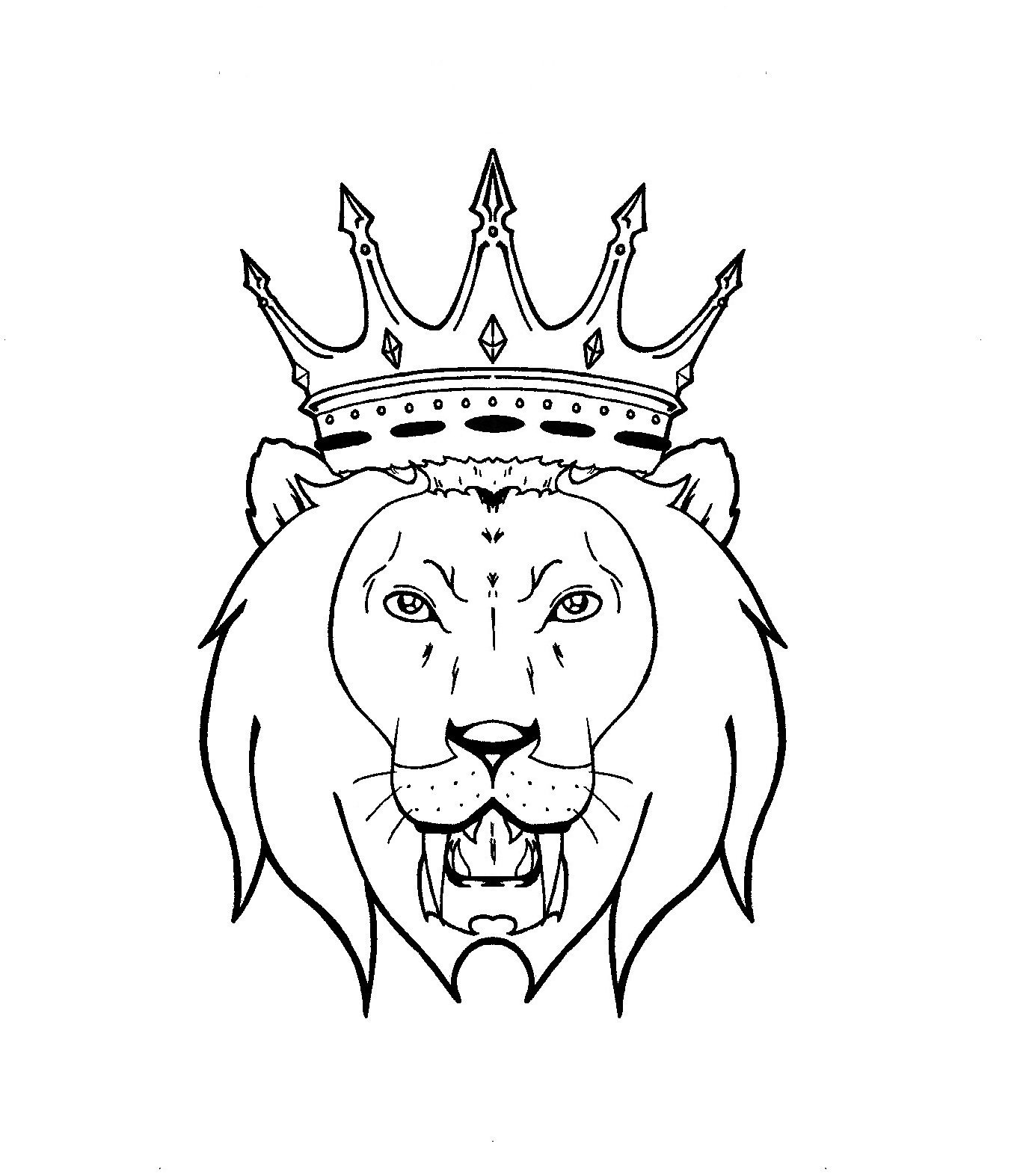 Lion King Tattoo Flash photo - 2