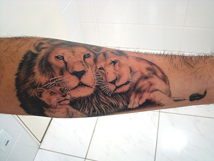 Lion Tattoo Gallery photo - 2