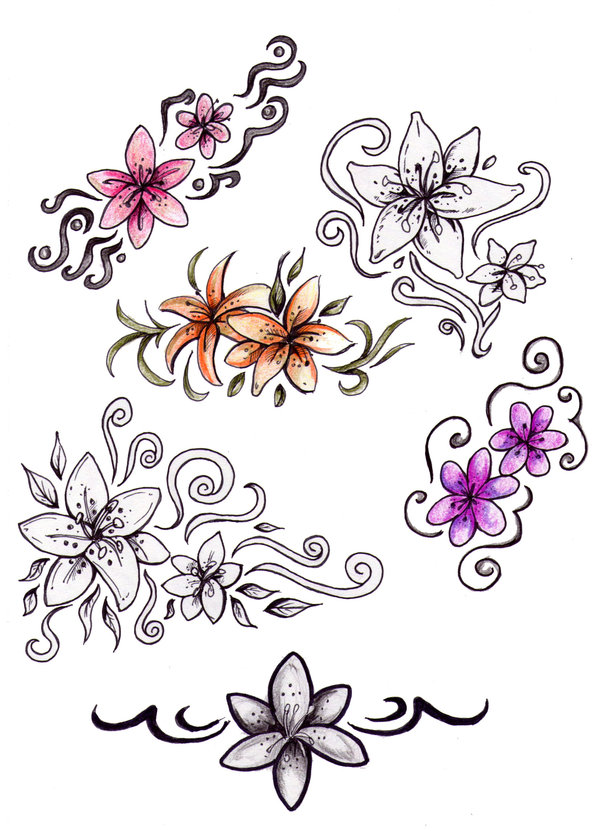Lovely Tribal Tattoo Designs photo - 2