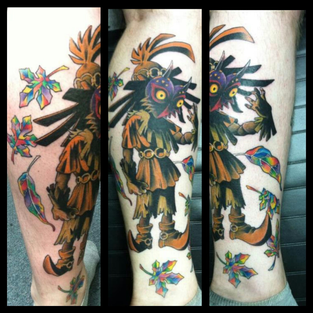 Majoras Mask Tattoo Designs photo - 3